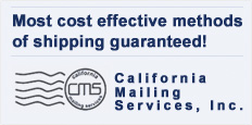 Most cost effective methods of shipping guaranteed!